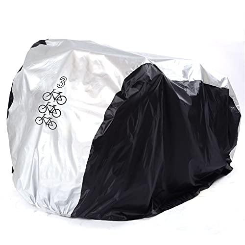 CHENXU Funda para Bicicleta Exterior Bicicleta Cubierta de Bicicleta Bicicleta Lluvia Nieve Polvo Sol Protector Motocicleta Impermeable UV Protección Todo EL Protector del Tiempo