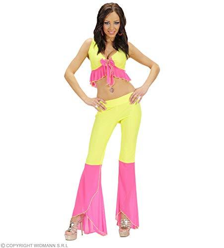 Kostüm-Set Sexy Neon-Samba-Tänzerin, gelb/pink, Grö�e S