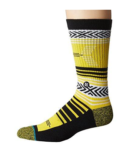 Stance M556D16MIO Men's Mazed Iowa Socks, Yellow - Large (9-12)