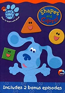 Blue's Clues - Shapes And Colors