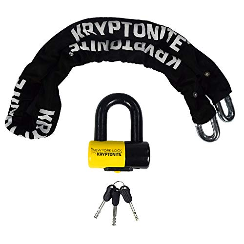 Kryptonite New York Legend 1515 15mm Chain Bicycle Motorcycle Disc Lock | Amazon