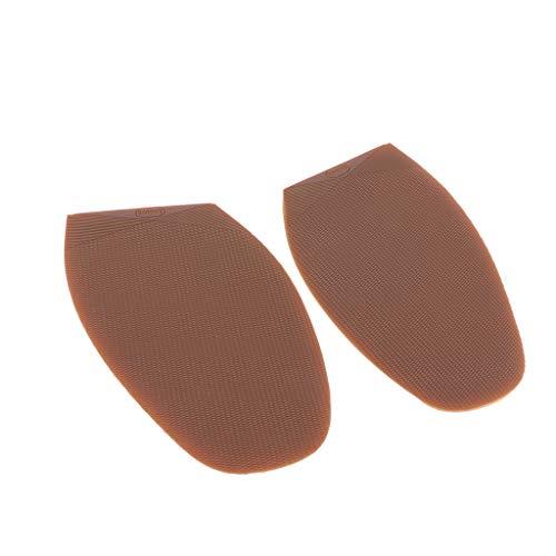 P Prettyia 1 Paar Schuhbedarf Gummisohlen Halbsohlen zur Reparatur von Schuhsohlen, 15 cm x 9 cm