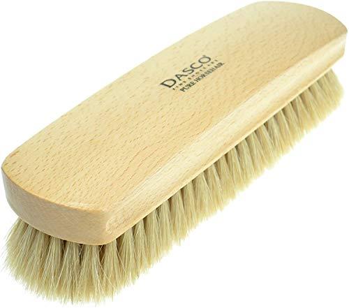 Dasco–Cepillo de Zapatos de Crin de Caballo Beige Beige