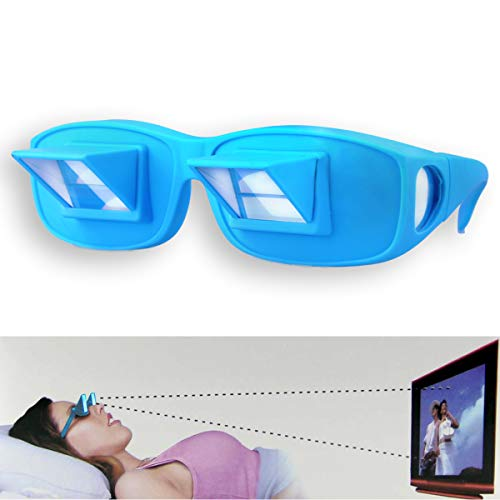 A pair of horizontal lazy spectacles