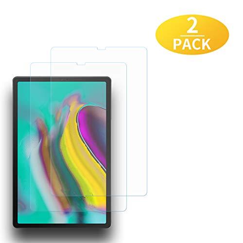 EAWEN Galaxy TAB S5E Panzerglas Schutzfolie,2 Stück Panzerglasfolie für Samsung Galaxy TAB S5E T720/T725 10.5 Zoll Tablet PC, 9H Festigkeit, Anti-Kratzer,Bildschirmschutzfolie für Samsung Galaxy TAB S5E