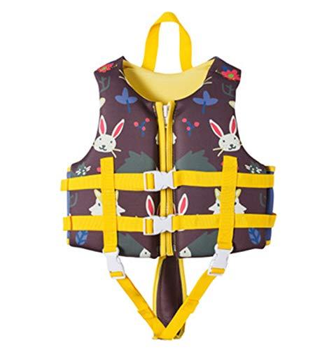 FR&RF Chaleco de Vida Chaleco Salvavidas de Alta Resistencia Natación para niños para Deportes acuáticos Natación Niños Niños Chaleco de Seguridad para bebés,1,M