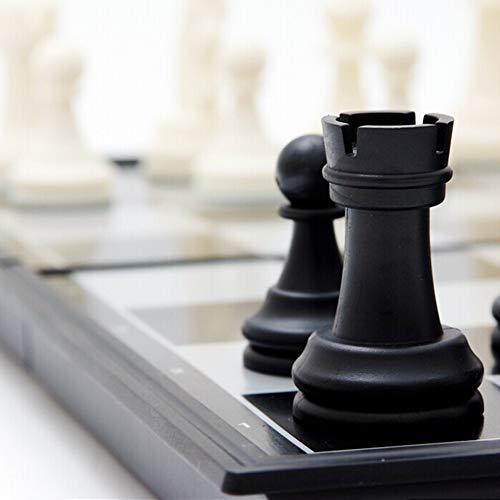 Schachspiel, Vorzügliches faltendes magnetisches Schachbrett-Wettbewerb-internationales -Spielzeug-Set 245mm