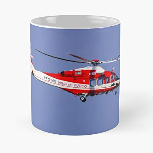 Fire Fighter's Helicopter Agustawestland Aw139 Vf-140 Classic Mug
