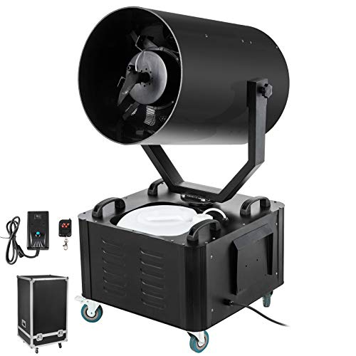 Snowflake Machine 2000W Snow Effect Machine 23ft Spraying Range Fake Snow Making Machine Snow Machine Snow Maker Snow Blowing Machine Stage Snow Machines Air Box Packaging For Parties