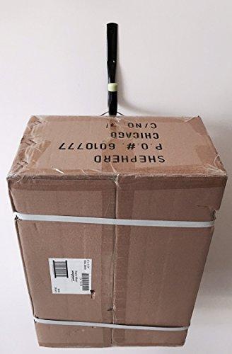 Shepherd Hardware 8088E Heavy Duty Steel Garage Storage/Assorted Utility Hooks, 6 Pack, black