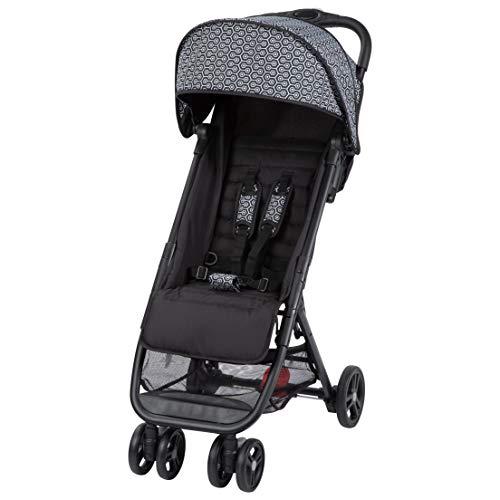 Safety 1st Buggy Teeny, ultra-kompakt zusammenklappbar, inkl. Transporttasche, ideal für die Reise, ab 6 Monate bis 3,5 Jahre, geometric (schwarz)