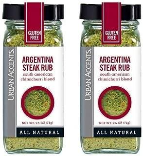 urban accents argentine steak rub