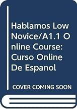 Hablamos Low Novice/A1.1 Student Online Course: Curso Online de Español