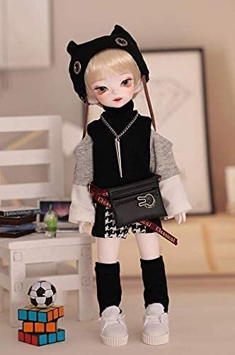 NIHE 1/6 SD Smart Doll Jointed Doll 26cm BJD Dolls with Full Set