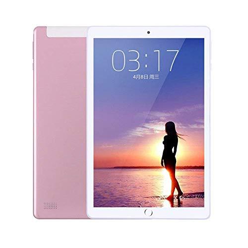 L.BAN Computadora Tableta Computadora de 10 Pulgadas Sistema Android Tarjeta Dual Soporte de Doble Modo de Espera WiFi Bluetooth GPS Cámara HD Dual Batería de Gran Capacidad de 4500 mAh, resolució