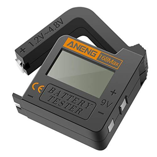 Harilla Batterie Tester Checker Universal Batterie Tester Monitor für AA AAA 9V 1,5 V Knopfzellen-Haushalt Batterie Tester Meter