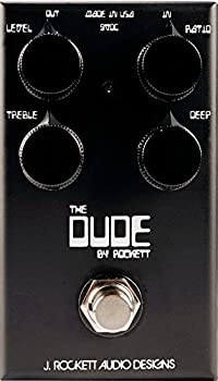 Rockett Audio Designs Tour Series The Dude Overdrive Guitar Effects Pedal review