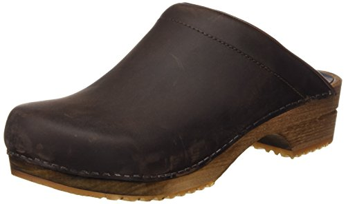 Sanita Herren Christian Open Clogs, Braun (Antique Brown 78), 42 EU