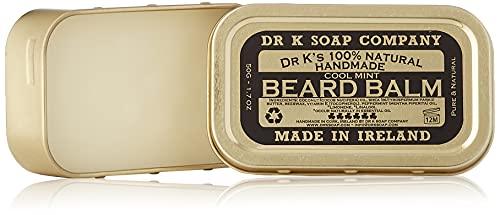 DR K Soap Company, balsamo per barba alla menta piperita, 50 g