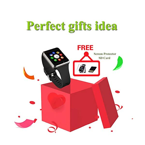 Fashion Shopping Android Smart Watches for Women with SIM SD Card SmartWatch Compatible Samsunge Watch