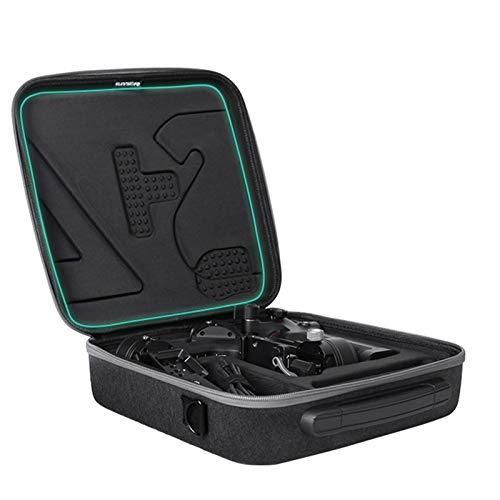 Esenlong Fall Tragbare Trage Lagerung Schulter Tasche Reise Hard Shell Box Kompatibel mit RSC 2 Tuch Eva Schwarz