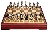 Juego de ajedrez portátil Juegos de ajedrez Chess Resin Chess Pieza de ajedrez tridimensional Figura de ajedrez Conjunto para niños, adultos regalos de ajedrez Ajedrez de madera con juego de mesa de a