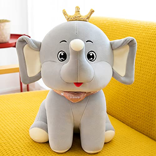 Uqfasb Crown Elephant Peluche Doll Tribal Doll Doll Birthday Drive Drive Hanzi