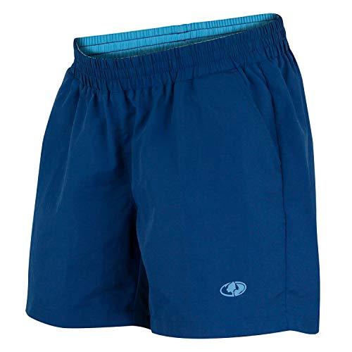 Mossy Oak Women's Swim & Fishing Quick Drying Shorts, Deep Sea Blue, Large