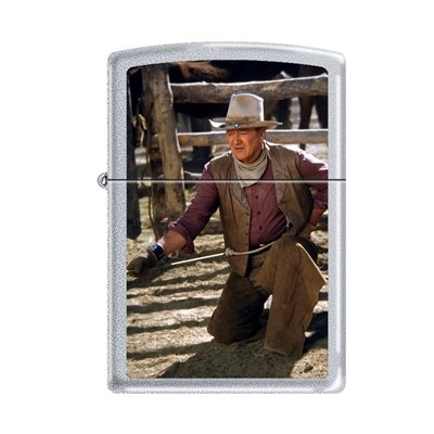 """John Wayne """"The Cowboys"""" Zippo Lighter"""