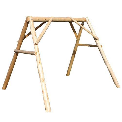 Lakeland Mills A-Frame Porch Swing, 4'