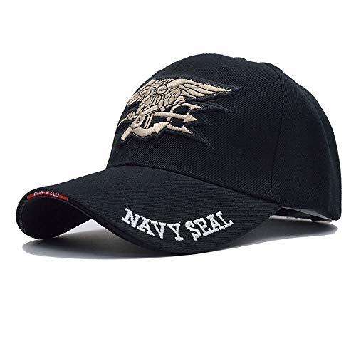 HXXWJ Hombre EE. UU. Navy Gorra de béisbol Navy Seals Cap Tactical Army Cap Trucker Gorras Snapback Hat para Adultos