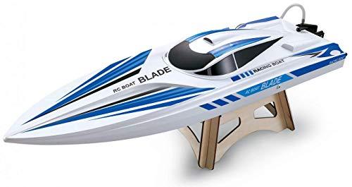Amewi 26071 Blade Mono RTR 670 mm RC Motorboot, Weiß/Blau