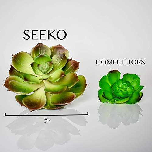 Seeko Artificial Succulents-14 Pack