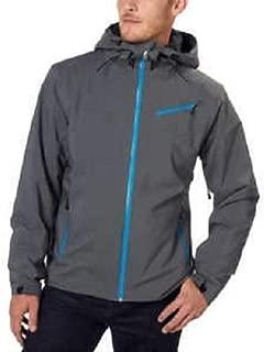 Spyder Men's Fanatic Ski Winter Jacket Hood Grey/Blue - XL