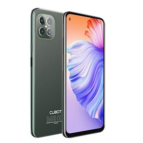 CUBOT C30 Smartphone, 6.4 Zoll Display, 8GB Ram/128GB Interner Speicher, 4200mAh Akku, 48MP Kamera, Android 10, Dual SIM, Grün