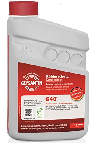 GLYSANTIN BASF G40® Premium Motorkühlmittel und Frostschutz Konzentrat 1,0L pink