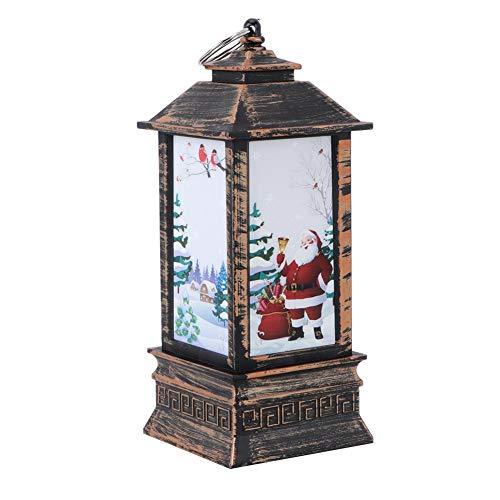 Kandelaar lantaarn retro LED kandelaar lantaarn licht kandelaar lamp Kerstmis Home Tafel Decor