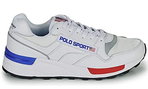 Zapatillas para Hombre Polo Ralph Lauren Sport Track Star Trainers 755987-001 (42 EU)