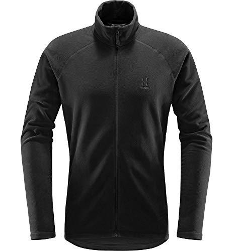 Haglöfs Fleecejacke Herren Fleecejacke Astro Jacket Men wärmend, atmungsaktiv, Stretch beweglich Small True Black XL XL - Empty for carryovers -