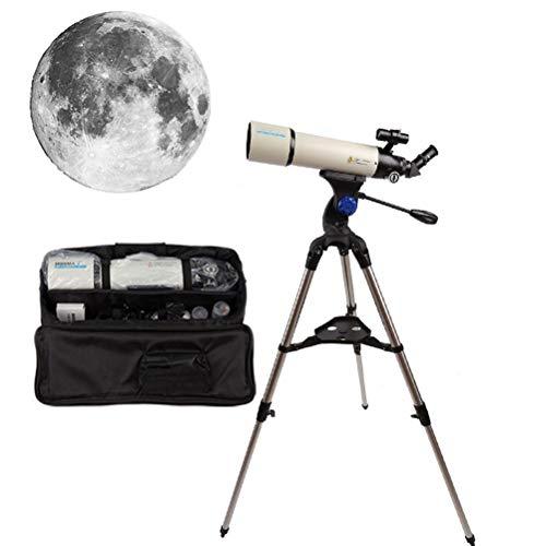 WXFXBKJ Teleskope, professionelle HD-monokulare astronomische, 80-mm-Apertur, 500 mm Brennweite mit hoher Definition-Bildgebung mit Telefonadapter, Rucksack, tragbarer Reisen