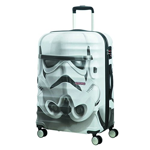 American tourister - Disney Wavebreaker Star Wars Stormtrooper, Spinner 67/24, 67 cm, 64 L, 4.5 KG Multicolour (Star Storm Trooper)