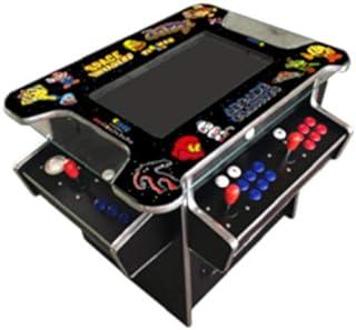 Ab Video Inc 3500 Games Black Huge 22 inch Screen Adjustable Stools Video Game Machine Cocktail Arcade Machine Classic Gam...