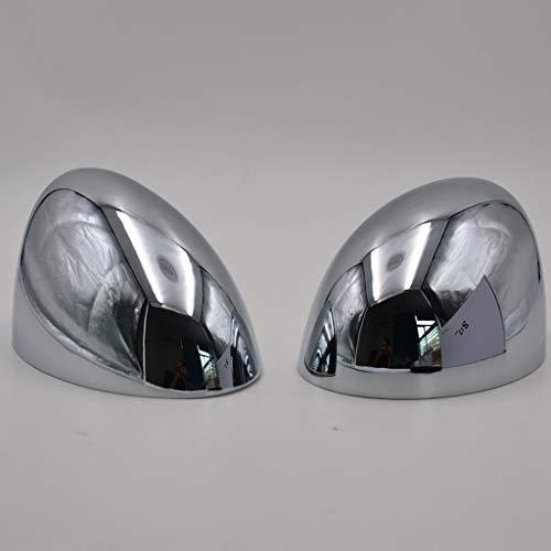 KESOTO 1 Paar Rückspiegel Kappe Abdeckung Spiegelabdeckung Spiegelkappen für BMW Mini Cooper 2001-2006 - Chrom