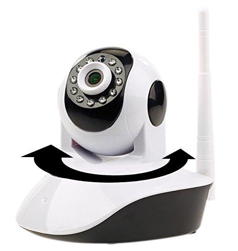 7links LAN Kamera: Dreh- und schwenkbare WLAN-HD-IP-Kamera IPC-280.HD mit SD-Recording (Indoor Überwachungskamera)