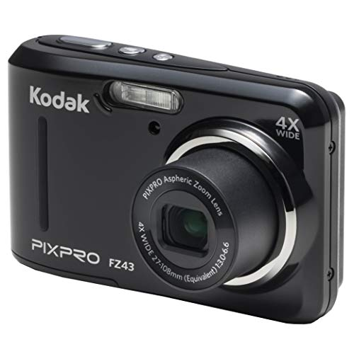 Kodak PIXPRO Friendly Zoom FZ43-BK 16MP Digital Camera ...