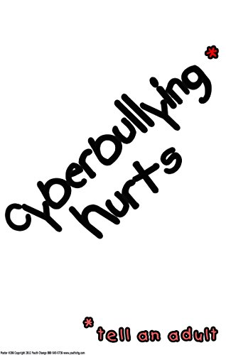 Póster # 286Stop Cyberbullying Póster para Elemental, Medio, high school...