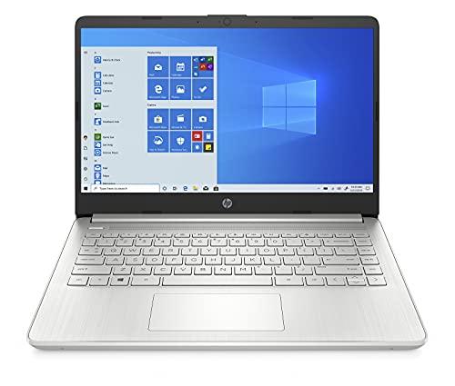 "HP 14s-fq0001sf PC Ultraportable 14"" HD Argent (AMD Ryzen 3, RAM 4 Go, SSD 256 Go, AZERTY, Windows 10S)"