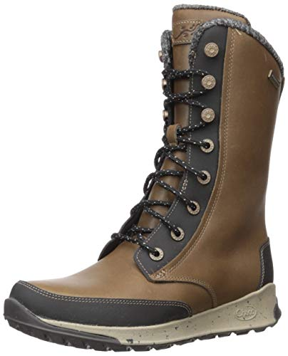 Chaco Women's Borealis Tall Waterproof Boot, Fossil, 10.5 M US