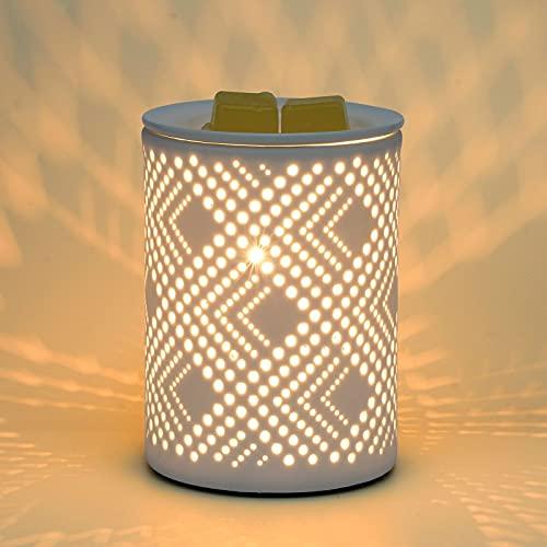 PALANCHY Ceramic Wax Melt Warmer Electric Candle Wax Warmer Burner Melter...