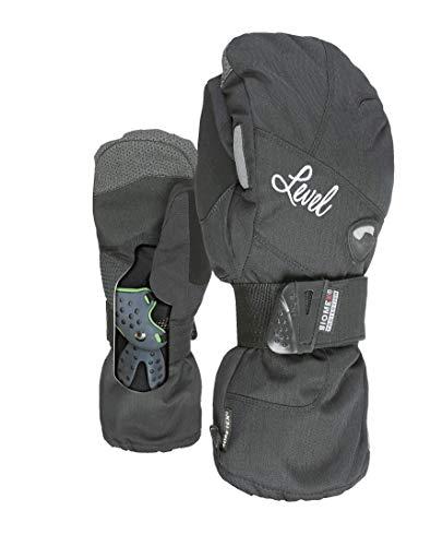 Level Damen Half Pipe Mitt Gore-Tex Handschuhe, Black, 7